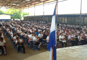 Students at Tipitapa