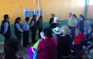 Dra. Hilda Romero muestra nuestra tecnologías de membrana-hueca para los gobiernos locales